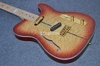 cordas de guitarra oem venda por atacado-OEM Fábrica Qualidade TL-Alta Qualidade novo costume TL 6 cordas instrumento musical guitarra elétrica 93