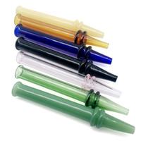 wärmesammler großhandel-Hitze schnell Mini mit 4,7 Zoll Nector Collector Glass Dab Stroh Straigh Tube Rauchen Zubehör Glas Honig Tipps für Dab