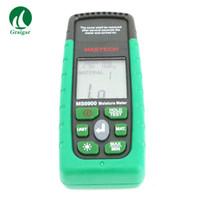 medidores de umidade da madeira venda por atacado-Mastech Digital profissão Madeira Timber Moisture Tester Medidor MS6900 Fornecer medição de umidade e umidade de temperatura