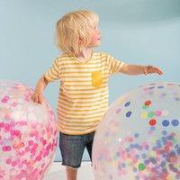 globo claro de la boda al por mayor-36 pulgadas lentejuelas llenas de colores claros globos látex claro globos novedad juguetes para niños cumpleaños juguetes decoraciones del banquete de boda globos