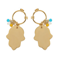 Wholesale mother pearl for sale - 2018 Earrings Stainless Steel Bear New Hot Sale For Women Never Fade Hot Selling Cute 2 Colours2017 Gold Stud Stainless Steel Bear Earrings