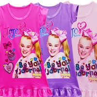 Wholesale pink nightgown sale online - Jojo Siwa Be You Journal Nightgowns for Sale Jojo Inspired Clothes for Toddlers Fashion Toddler Night Gown Pajamas Jojo Fans Pajamas