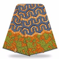 Wholesale Super Wax Hollandais New Design - 2017 New Design High quality african wax prints fabric super wax hollandais dutch wax fabric for sewing 6yards cotton fabric