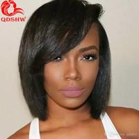 Wholesale Short Hairstyles Side Bangs Black Women Buy Cheap Short