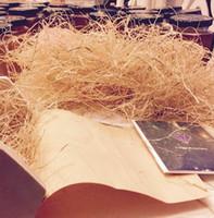 Wholesale Wholesale Filler Paper - 100G Natural Raffia Natural grass filler shredding Raffia ceramic filler paper gift box