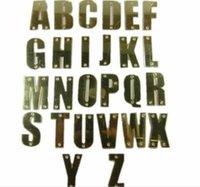 hysteresen acryl buchstaben großhandel-Benutzerdefinierte Hut 3D Acryl Buchstaben Golden Hip Hop DIY NAME Brief Erwachsene PU Hüte Persönlichkeit 5 Hysteresen Baseballmützen