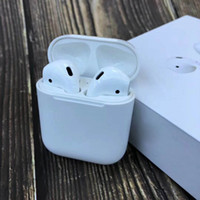 Wholesale Wireless Earbuds For Iphone X plus Apple Airpods Original In ear Earphone Deeper Bass Smart Earbuds Voice Connect Pow