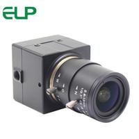 Wholesale camera lens resolution resale online - 5mp high resolution USB webcam Aptina Color CMOS Full HD USB Camera megapixel with mm varifocal lens for D printer