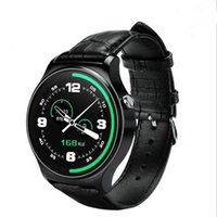 dişli telefonu toptan satış-Sıcak GW01 Akıllı İzle 4.0 IPS Tam Yuvarlak Smartwatch Dişli S2 IOS Android Telefonlar Için Pk K88h Gt08 Dz09 U8