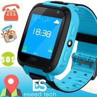 bebek kamera android toptan satış-Q528 Çocuklar Akıllı İzle Çocuk SmartWatch 1.44 Inç Dokunmatik Ekran SOS Acil GPRS Alarm Kamera Anti-kayıp Saat Kol bebek Saat