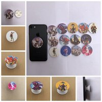 Wholesale mounts stands - Fortnite Llama Design 40MM Plastic Air cell Mount Stand Holder With blue Retail package universal cell phone holder MMA211
