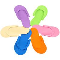 Wholesale eva slippers for men for sale - Group buy Travel Disposable Slippers Eco Friendly EVA Salon Spa Babouche For Men And Women Universal Baboosh Portable yx CB