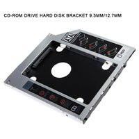 Wholesale macbook window - New 9.5mm 12.7mm SATA HDD SSD Hard Drive CD-ROM Bracket Caddy Bay for MacBook Windows EM88