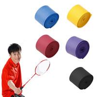 антискользящая лента оптовых-Absorb Sweat Anti-Slip Badminton Band Overgrip Roll Tennis Badminton Band