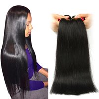 Wholesale human hair for sale - 8A Unprocessed Brazilian Straight Hair Bundles Brazilian Human Straight Hair Weft Brazilian Virgin Straight Human Hair Extension