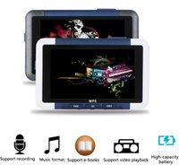 lcd mp4 media player venda por atacado-3 polegadas LCD 8GB de memória FM Radio Video Recorder Media MP3 MP4 Player com E-book