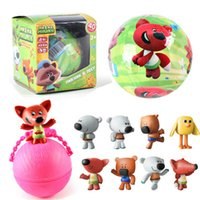 Wholesale Bear Toy Box - 8 styles LOL Surprise Doll Random Doll LQL Eggs Doll Toy Action Figure The Egg Blind Box Mimi Bear to Open A Toy Kids Gift