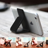 Wholesale pop holders resale online - Pop Flourish Lama Expanding Stand and Stickers for Smartphones and Tablets Nano Rubber Mobile Phone Holder For Pad Cell Phone Mounts