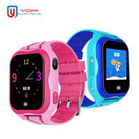 сим-карты удаленные устройства оптовых-Смарт-часы водонепроницаемый SIM-карты Smartwatch для детей дети GPS Smartwatch шагомер пульт дистанционного монитора носимого устройства для Android