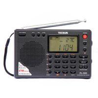 radio lw mw sw al por mayor-Original PL380 Digital DSP ETM PLL World Band Demodulación Radio portátil estéreo FM LW / SW / MW DSP Receptor digital Tecsun PL-380