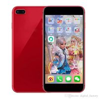Wholesale mp3 player cans for sale - Goophone I8 Plus Inch I8 Plus phone Touch ID WCDMA G Quad Core Ram GB Rom GB Camera MP Smartphone Can Show G LTE GB GB