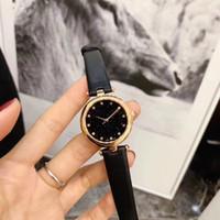 dame de ceinture en cuir achat en gros de-Nouveaux montres de luxe pour dames, montres à quartz de marque de mode, montres à la mode en cuir avec ceinture, cadeaux pour la Saint-Valentin pour femmes, 2018
