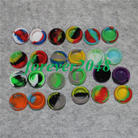 Wholesale bho butane for sale - Group buy Reusable Round Non stick ml Silicone Jar Container For E cig Wax Bho Oil Butane Vaporizer Silicon Jars Dab Wax Container