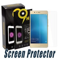 Wholesale film unions - Tempered Glass 9H 2.5D Shock Proof Screen Protector Film For Huawei P8 Lite Y3 Y5 Y6 Y600 Y360 Y536 Union Y538 Y530 Y550