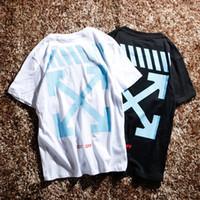 Wholesale Good Quality Black T Shirts - Good quality New Hot Fashion Sale Brand Clothing Men Print Cotton Shirt T-shirt men Women T-shirt S-XL b8037