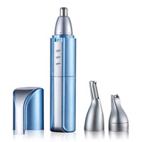 Wholesale fast trim - Fast Shaving Men Electric Nose Ear Hair Trimmer Painless Women Trimming Sideburns Eyebrows Beard Hair Clipper Cut Shaver