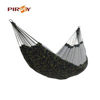 Wholesale Indoor Parachute Hammock - 200*145cm Outdoor Portable 2 People Camping Hammock Garden Swing Set Parachute Indoor Camouflage Thicken Canvas Hammock