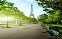 смотреть в прямом эфире оптовых-3D обои настенная роспись декор фото фон оригинальный Париж Эйфелева башня улица вид ТВ фон стены обои настенная живопись для гостиной