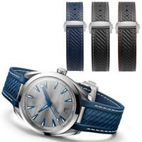 Wholesale aqua straps for sale - Group buy 2018 NEW Arrivals MM soft waterproof rubber watch straps For AQUA Bracelet TERRA AT150 watchbands