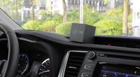 assistir alarme de data venda por atacado-Enfeites de carro Relógio Relógio Termômetro Data 3 Em 1 Dashboard Decoração Despertador De Madeira Automóvel Acessórios de Decoração de Interiores