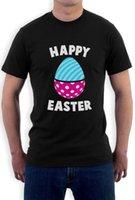 spaß ostern geschenke großhandel-Frohe Ostern! Spaß-festlich verzierte Osterei-T-Shirt Geschenk-Idee