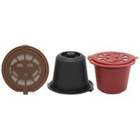 Wholesale wholesale capsule machines - Kitchen Refillable Coffee Capsule Cup Reusable Refilling Filter For Nespresso Machine Reusable Coffee Capsules Nescafe Cup OOA4397