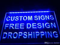открытые вывески оптовых-0-b дизайн свой собственный светодиодный неоновый свет знак бар открытый дропшиппинг декор магазин ремесел