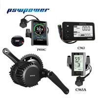 kit de conversión de motor de bicicleta eléctrica al por mayor-Envío gratis bafang / 8FUN BBS03 BBSHD 48V 1000W Ebike Bicicleta eléctrica Motor 8fun mediados de unidad de bicicleta eléctrica kit de conversión