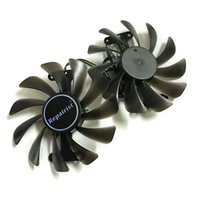 Wholesale graphics video card cooling fan online - 2pcs GF10012H12SPA A video cards cooler GTX1080 GPU fan For zotac GeForce GTX AMP Graphics Card GPU cooling
