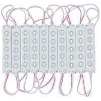 mavi led ışık modülleri toptan satış-Edison2011 500 adet DC 12 V 5 Leds SMD 5730 5630 Led Modül Işıkları Süper Parlak Beyaz / Sıcak Beyaz / Kırmızı / Mavi / Yeşil Led Modülleri Aydınlatma