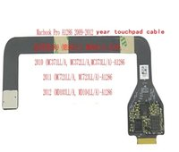 macbook trackpad großhandel-A1286 Trackpad Touchpad Flexkabel für MacBook Pro 15