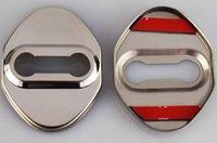 fechaduras de porta toyota venda por atacado-Auto Emblemas Car Styling Case Para Honda Mugen Poder Civic Accord CRV Hrv Jazz Para Toyota Tampa Da Fechadura Da Porta Do Carro-Styling