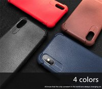 telefone celular anti-choque venda por atacado-2018 ultra fino linhas de couro air bag caso de telefone celular anti-choque anti-choque macio tpu casos de volta capa para iphone x 8 7 6 6 s plus
