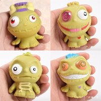 Wholesale Plastic Witch - Witch Poison Doll Vent Ball Animal Water Polo Trick Child Kid Toy Gift Green Soft Silicone Decompression Non Toxic 4 2xr V