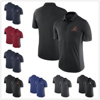 Wholesale Baltimore Xxl - Men's 2018 Arizona Atlanta Baltimore Boston Chicago Baseball Performance Franchise Polo Shirts, Size S-3XL, Heat Applied Team Name
