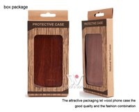 Wholesale Iphone Case For Sublimation - Free package DIY sublimation custom logo wood cell phone case for iPhone 7plus 8plus 7 8 plus, gift phone case for i Phone