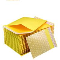papierblasen-umschlag großhandel-9 größe luftblasenbeutel 110 * 130 cm-200 * 250 cm selbstdichtende poly luftblasen kraftpapier mail umschlag tasche pe luftblasengefüllte umschläge verpackungsbeutel