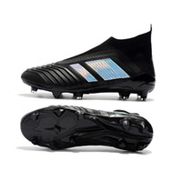 Wholesale 18 snow - Predator Pogba Neymar 18+ 18.1 FG New Soccer Cleats Mercurial Football Boots Mens Designer Sports Running Shoes Sneakers Casual Trainers