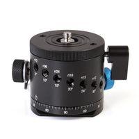rotor da câmera venda por atacado-Rotor panorâmico da indexação da braçadeira do BallHead do panorama para a cabeça do tripé da câmera