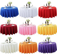 mesa de mantel de damasco al por mayor-Mesa redonda lujosa cubierta redonda del damasco Jacquard Mantel Mantel boda del hotel lavable a máquina paño de la tela Tabla SN1555